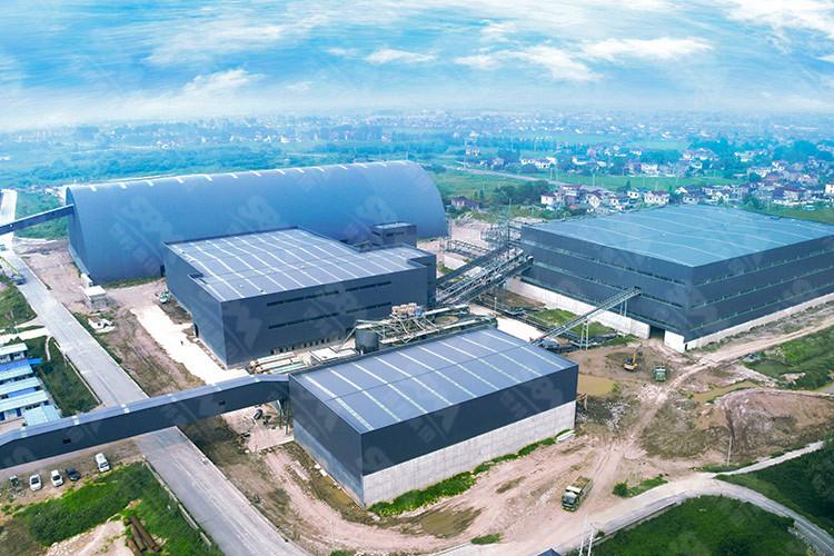 江苏时产1500吨河卵石破碎生产线