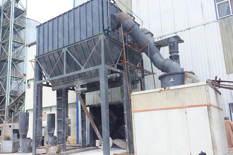 贵州时产8吨方解石磨粉生产线