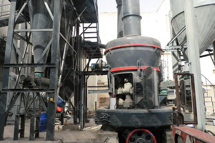 贵州年产4万吨重晶石制粉生产线