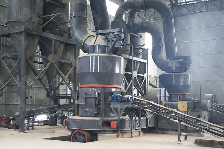 河北时产20吨石灰磨粉生产线