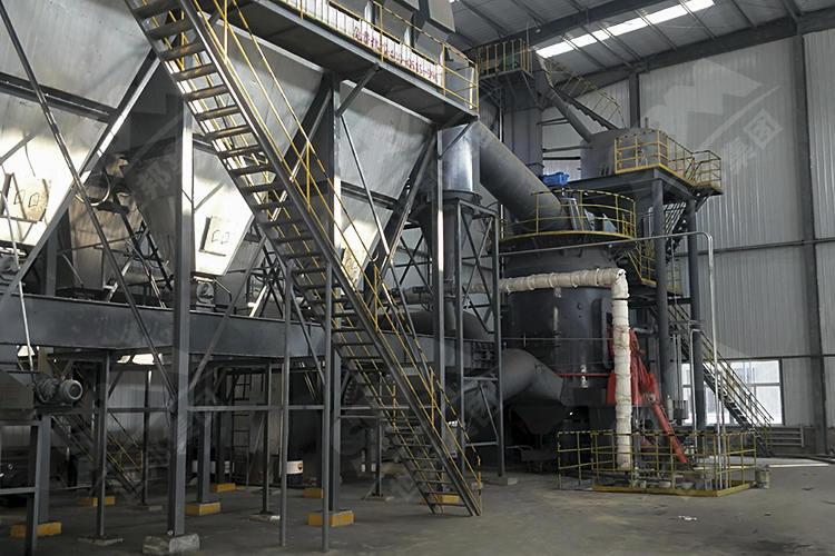 宁夏年产10万吨煤磨粉生产线