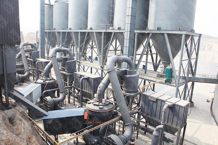 山东年产100万吨清洁煤粉制备生产线