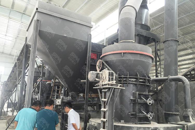 江苏时产5吨陶土制陶磨粉生产线
