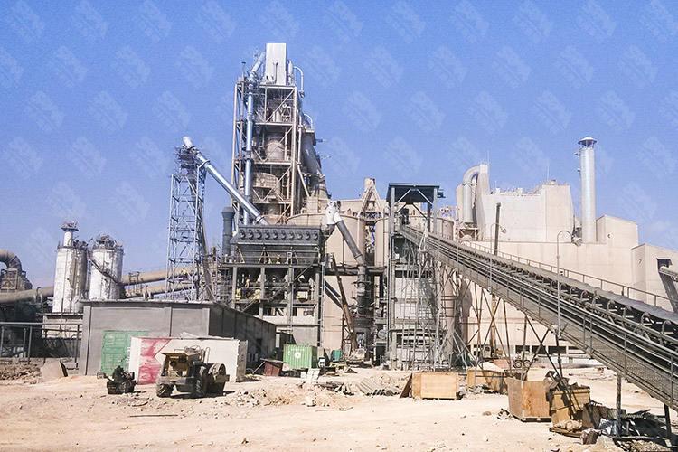 约旦时产30吨煤粉磨粉生产线