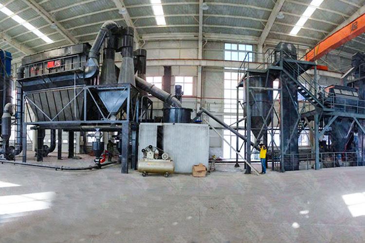 浙江年产10万吨方解石-石灰石超细粉生产线