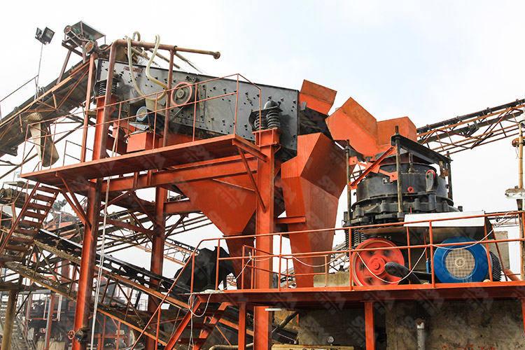河北年产300万吨铁矿石破碎生产线