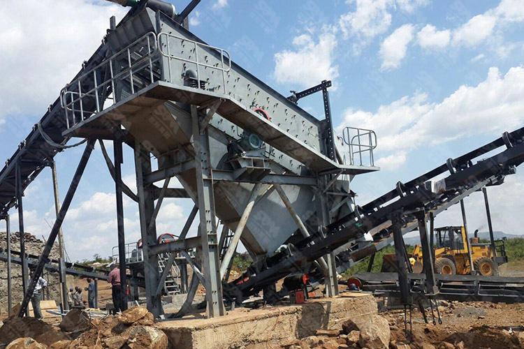 土耳其铜矿石破碎线