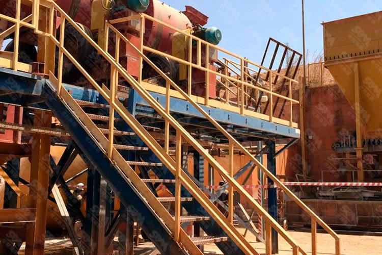 西非日产2000吨金矿氰化线