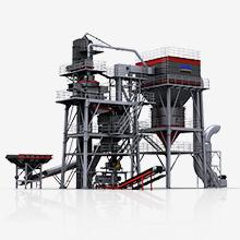 塔楼干法制砂成套系统